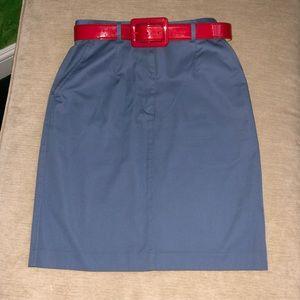 High waisted L.L Bean skirt